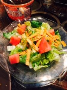 Southwest salad with tomato